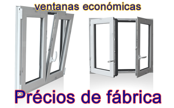Pvc o aluminio precios materiales de construcci n para for Ventanas de aluminio baratas online